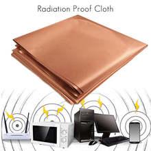 1 M Tecido-RFID Bloqueando Radiação EMF Proteção Cobre Puro Singal Wifi EMI EMP RF