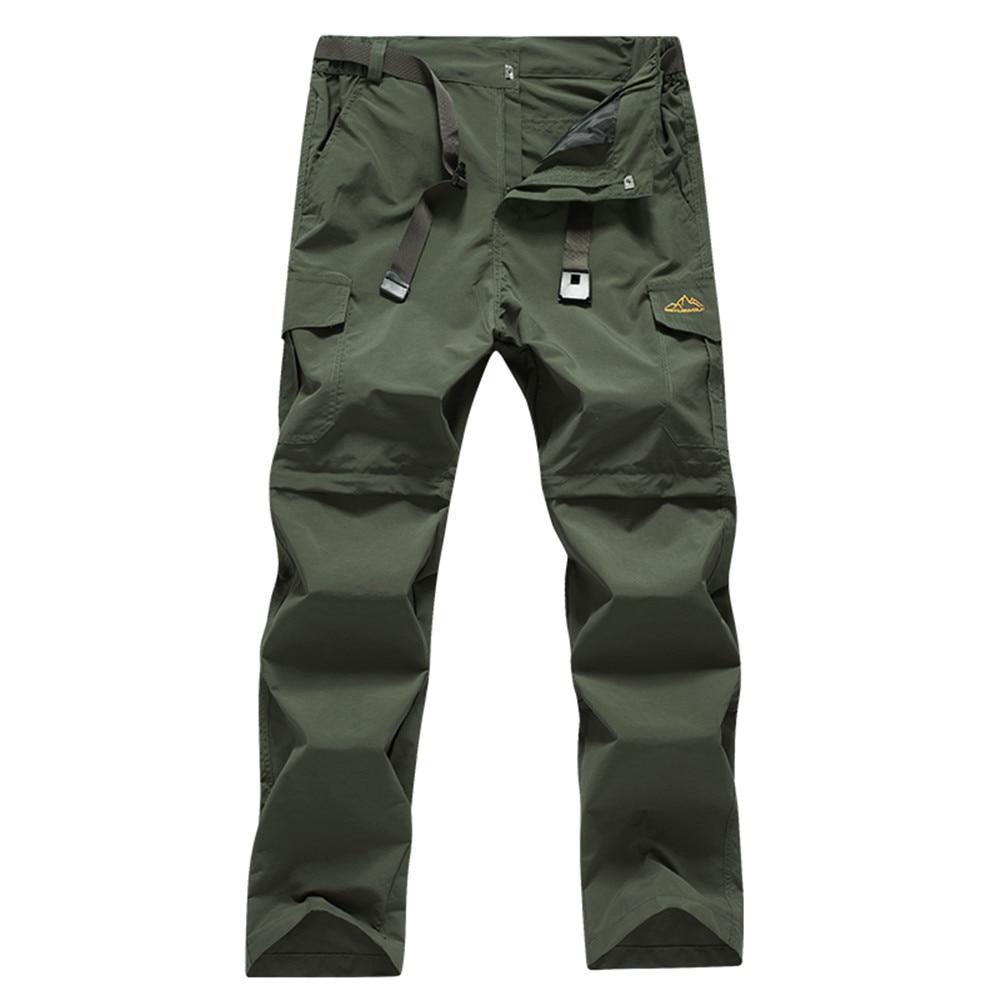 WWKK мужские водонепроницаемые походные брюки быстросохнущие спортивные брюки горные уличные брюки эластичные дышащие мужские брюки для от...