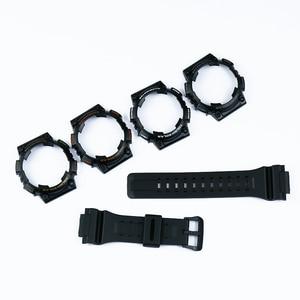 Image 3 - שעון אביזרי פין אבזם מתאים עבור Casio שרף רצועת מקרה גברים של שעון עם AQ S810W AQS810WC ספורט עמיד למים שעון להקה