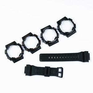 Image 3 - Uhr zubehör pin schnalle geeignet für Casio harz strap fall herren uhr mit AQ S810W AQS810WC sport wasserdichte uhr band