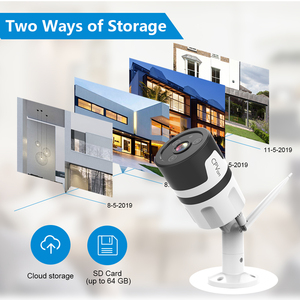 Image 4 - CPVan IP kamera Alexa kamera HD 1080P Bullet kamera iki yönlü ses gece görüş WiFi видеонаблюдение gözetim