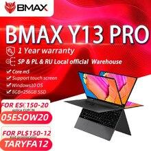 Bmax y13 pro 8gb ram 256gb ssd 13.3 polegadas notebook intel core m5-6Y54 360 ° portátil 1920*1080 ips tela de toque windows 10 laptops