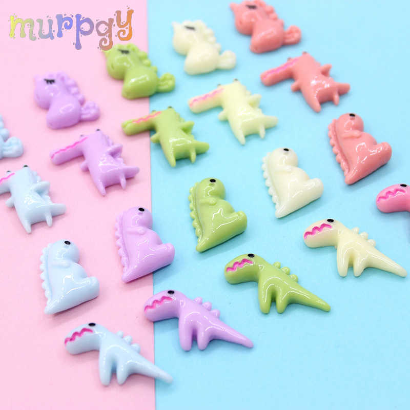 10PCS Cartoon Crocodile Slime Supplies Accessories Decoration  Addition For Slime Filler DIY Charms Phone Case Kit Kids Toys