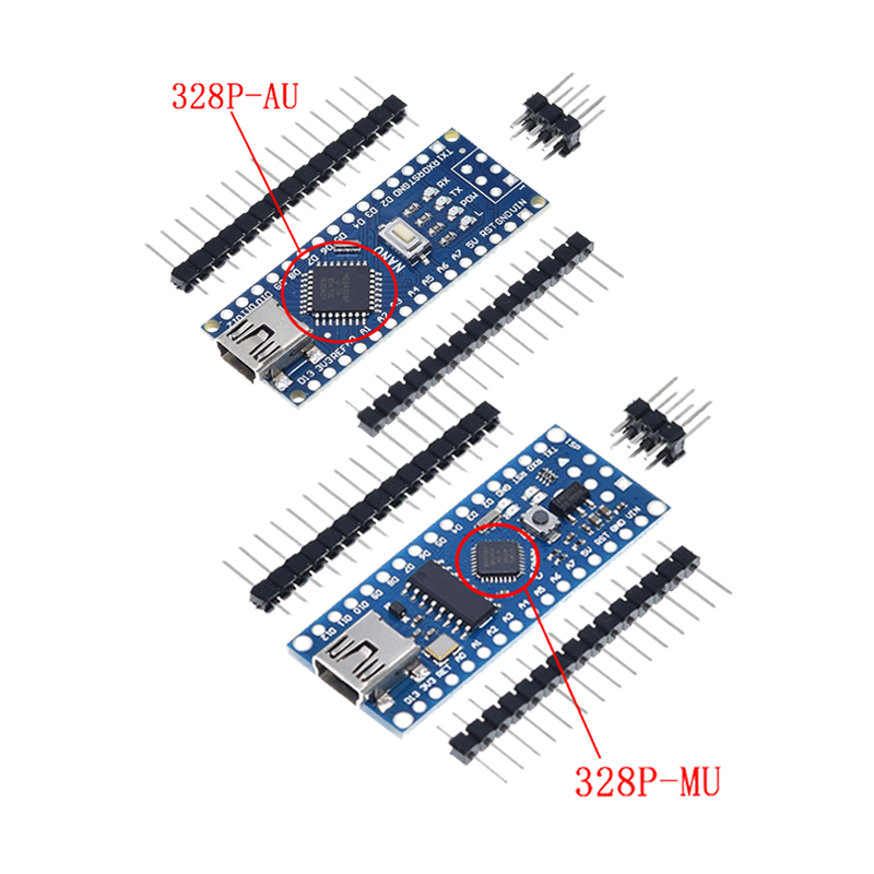 Atmega328 мини USB нано-V3.0 ATmega328P CH340G 5V 16M микро-контроллер доска для Arduino 328P Nano 3,0 CH340