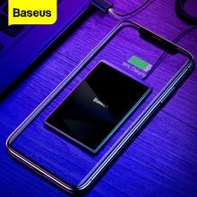 Baseus 15W צ י אלחוטי מטען עבור iPhone X Xs מקסימום Ultra Slim מהיר Wirless טעינה אלחוטי Pad עבור סמסונג s10 S9 Xiaomi Mi 9