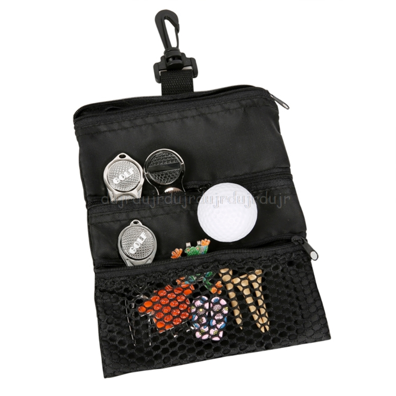 Portable Golf Ball Bags Holder   Mesh Pouch Storage For Outdoor Training D02 19 Dropship