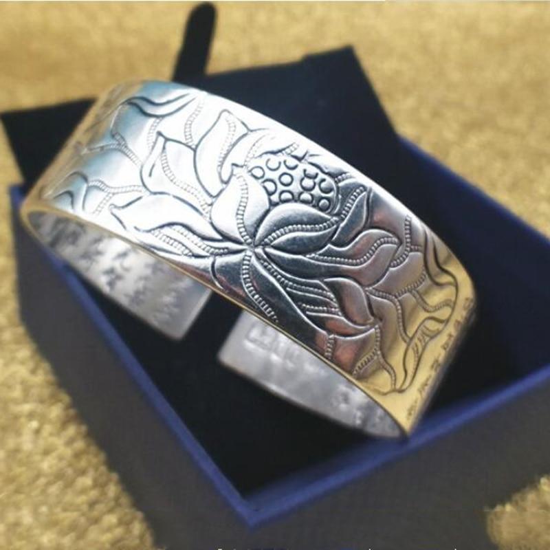 acheter Bracelet Lotus Sutra Argent 925 avec sa boite oko oko