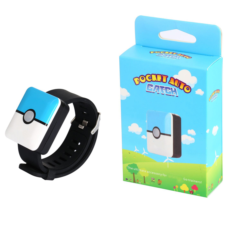 Auto Catch Bracelet For GoPlus Bluetooth Rechargeable Square Bracelet Wristband Bracelet Device for Android IOS