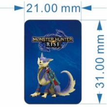 For Nintendo Switch Monster Hunter Rise amxxbo Card Resent Tiger Dragon Ailu Cat NS Game Reward Card NFC cards NTAG215