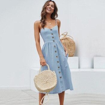 Summer Strap Print Floral Long Boho Bohemian Beach Dress 2018 Women Sundress Sexy Casual Loose Plus Size Robe Femme Maxi Dresses 4