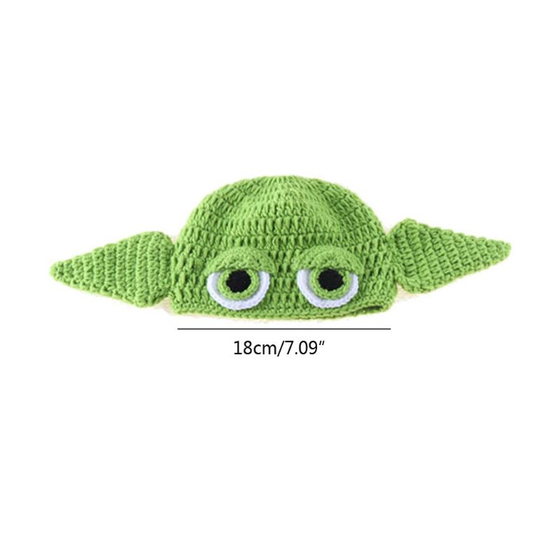 Newborn Crochet Knit Costume Prop Outfits Photo Photography Baby Hat Photo Props K1KC