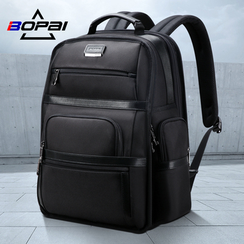 BOPAI Multi Function Business Travel Backpack for Men 15.6 inch Laptop Casual Daypack