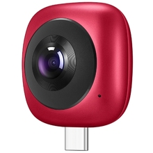 цена на Type-C 360 Panoramic Camera Coolplay CV60 Lens HD 3D Live Motion Camera Android 360 Degree Wide Angle Phone External Lens Huawei