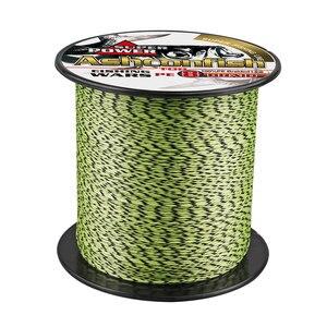Image 4 - Качественные Рыболовные снасти, онлайн плетеная рыболовная леска, 8 нитей, 500 м, 1000 м, полиэтиленовый шнур для подледной рыбалки, 8 300 фунтов