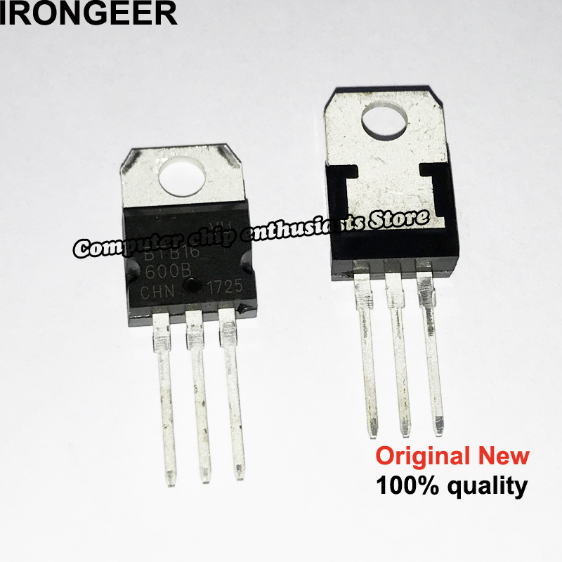 10pcs BTB16-600BW BTB16-600B BTB16-600 BTB16 600BW TO-220 NEW