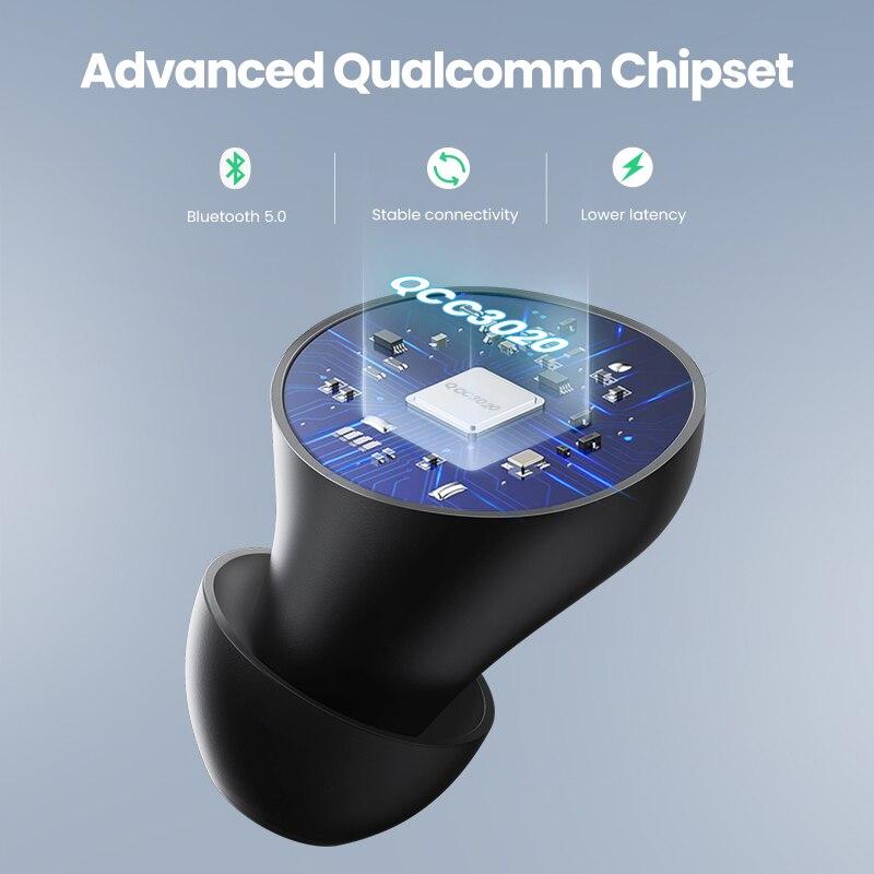 cheapest UGREEN HiTune TWS Headphones Wireless Bluetooth Earphones aptX with Qualcomm Chip True Wireless Earbuds Bluetooth 5 0 Headphone