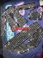 Female Bar Singer Performance Suit Set Silver Black Striped Rhinestones Bra Pants Jacket 3 Piece Outfit Nightclub Stage Costume