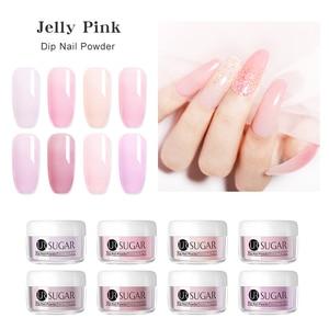 Image 4 - Пудра для ногтей UR SUGAR, 30 мл, градиентная, прозрачная, блестящая, натуральная, сухая, для украшения ногтей