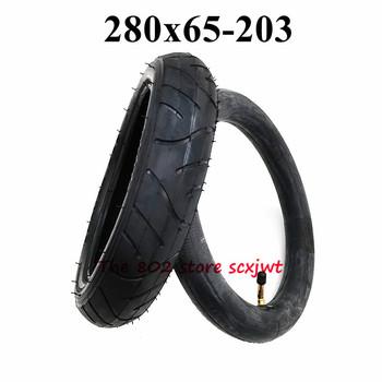 Darmowa wysyłka 280X65-203 Cal opony 280X65-203 wózek Push Chair Jogger przednia i tylna dętka tanie i dobre opinie CN (pochodzenie) 5 6cm 28cm rubber 0 49kg 280 65-203 10inch