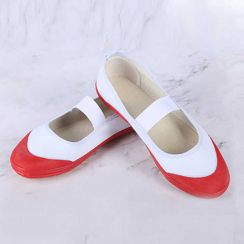 Yashiro nene cosplay sapatos femininos sapatos esportivos anime higiênico-bound hanako-kun cosplay sapatos escola menina sapatos de dança branco vermelho