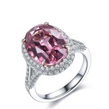 Anillos para joyería de moda de mujer, cristal rosa, nuevo descuento de apertura de tienda