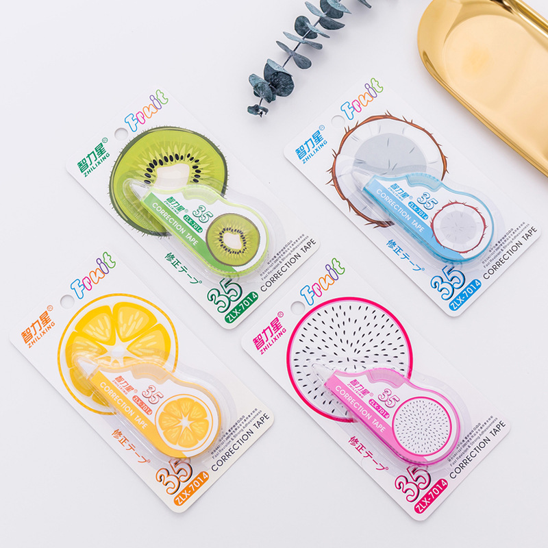 Creative Fruit Correction Tape Cute Diary DIY Scrapbooking Stickers Stationery Gift Office School Supplies