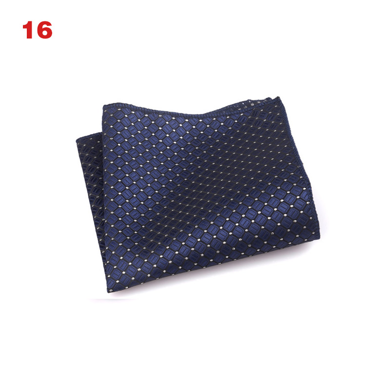 Vintage Men British Design Floral Print Pocket Square Handkerchief Chest Towel Suit Accessories BMF88