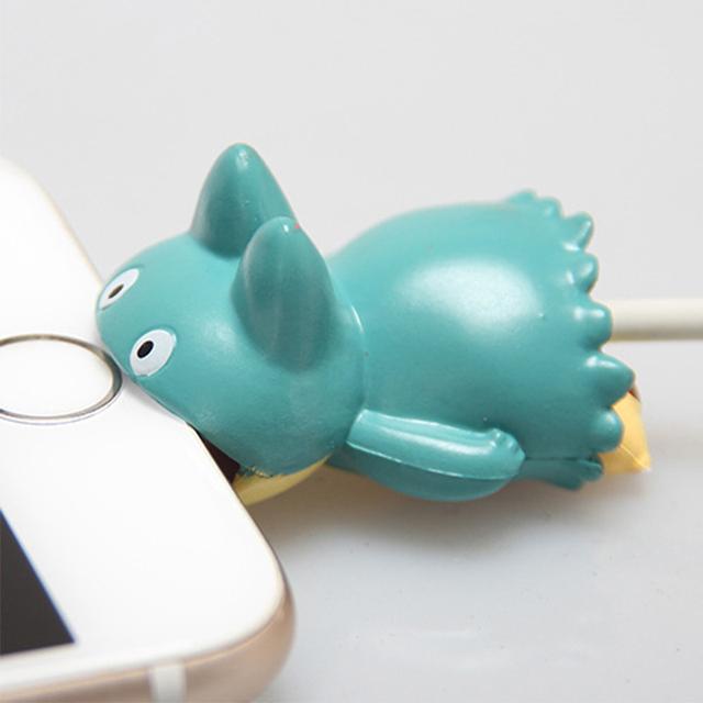 Pokemon USB Protective Case Cable Bite Accessories Pikachu Eevee Pokemon Go