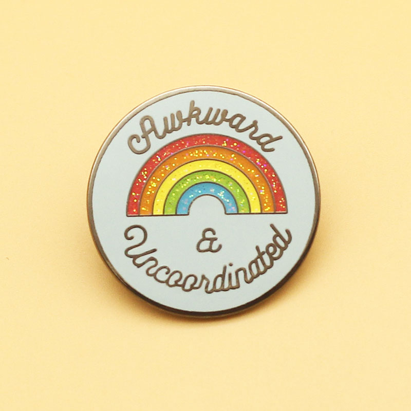 Gay gay pride brooch and rainbow enamel pins Men and women fashion jewelry gifts anime movie novel lapel badges|Brooches|   - AliExpress