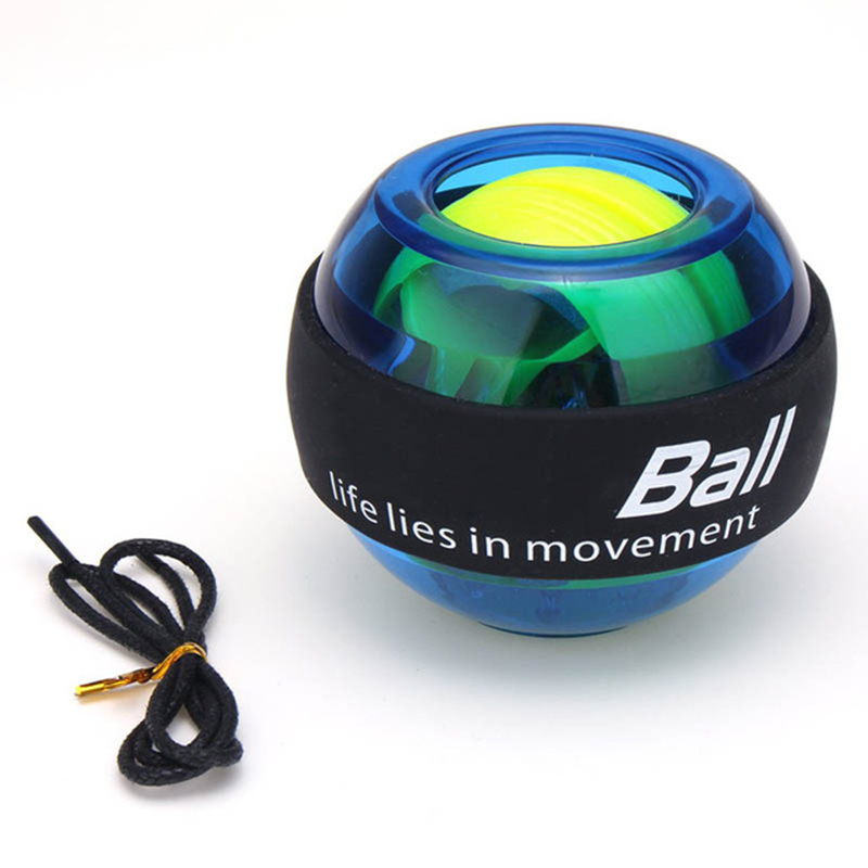 Arm Exerciser Strengthener LED Wrist Ball Trainer Muscle Training Powerball Relax Gyroscope Ball Home Gym Fitness Equipment image