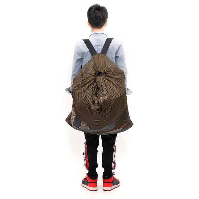 120cm x 75cm Duck Goose Turkey Decoy Bag Mesh With Shoulder Straps Bird Hunting Net Mesh for Hunting Backpack 4