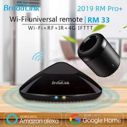 2019 Broadlink RM33 RM Pro +/RM mini3 أتمتة المنزل الذكي متحكم عالمي عن بعد ذكي واي فاي IR RF التبديل