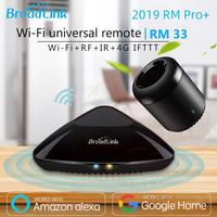 2019 Broadlink RM33 RM Pro+/RM mini3 Smart Home Automation Universal Remote controller Intelligent WIFI+IR+RF Switch|ir remote for android|controle wifi|rm pro -