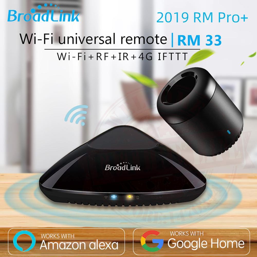 2019 Broadlink Rm33 Rm Pro +/rm Mini3 Automação Residencial Inteligente Controlador Remoto Universal Inteligente Wi Fi Ir Rf Interruptor