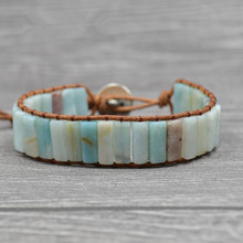 Armbanden Voor Vrouwen Bohemian Bracelets Tube Natural Stonse Single Wrap Bracelet Beaded Couples Bestfriend Gifts Dropship