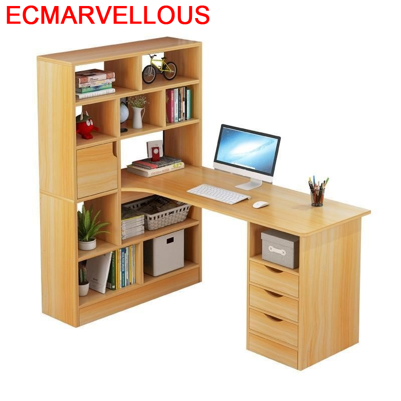 Dobravel Support Ordinateur Portable Escritorio De Oficina Tisch Small Tablo Bedside Computer Mesa Desk Table With Bookshelf