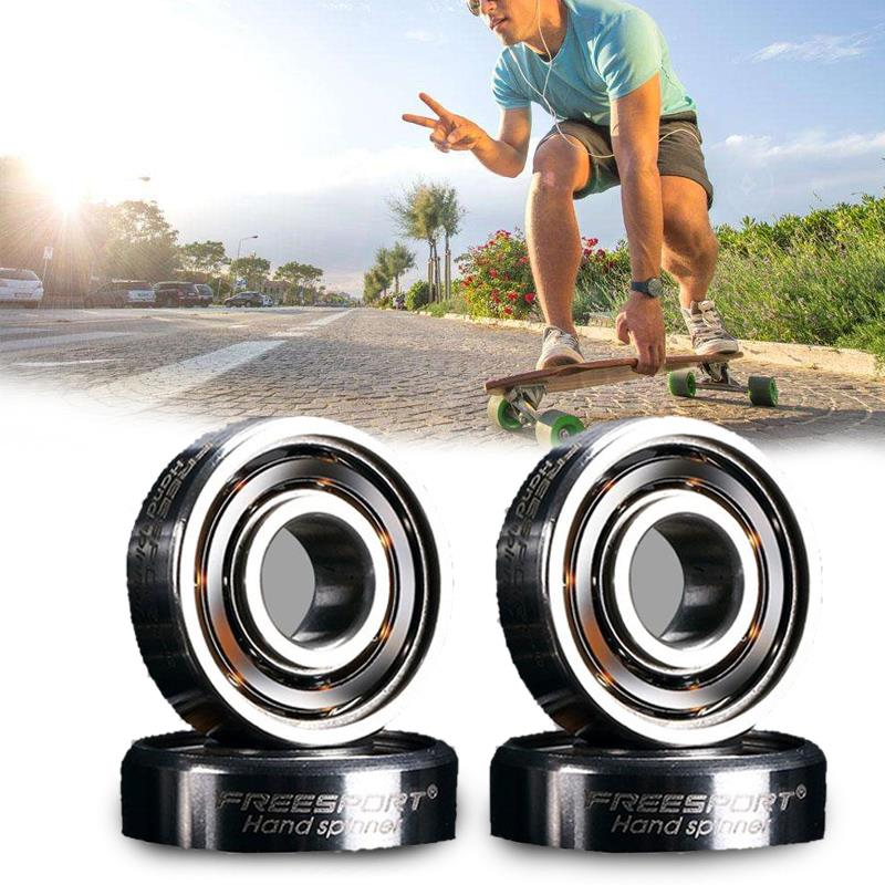 Skateboard 608RS Skate Roller Blade Hocker Wheel Inline Ball Steel Bearing