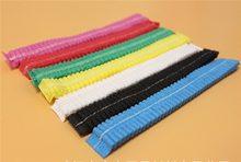 10 pces descartáveis não tecidos microblading tecido permanente estéril chapéu para sobrancelha tattooing catering chapéu maquiagem cabelo net bonés