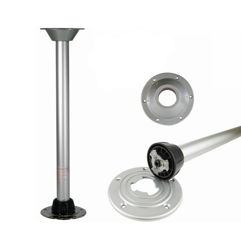 RV Rotatable Table Legs Yacht Stand Movable Table Legs Set Yacht RV Hardware Accessories
