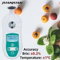 0-53% digital brix refratômetro suco mel medidor de teste fluido brix refratômetro índice de açúcar instrumento de medição 40% de desconto
