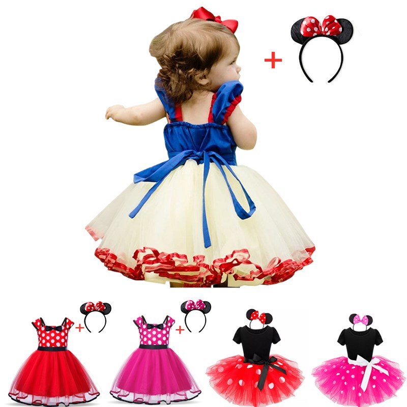 Dress Toddler Fancy Dress New Year Holiday Costume Children's Princess Dress Halloween Cosplay Baby Girls Clothing 1