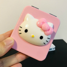 Makeup Mirror Folding Kitty Cartoon Kawaii Portable Cat