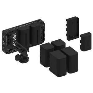 Image 3 - LP E6 Battery Plate Holder Converter for Fotga A50 T TL TLS Camera Field Monitor