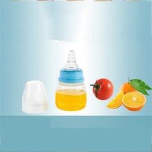 Мини-детская портативная для кормления безопасный, не содержит БФА для новорожденных детей уход за ребенком кормушка Молоко Фруктовый сок бутылки 60 мл
