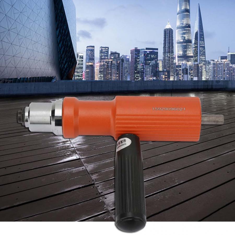 Drill Riveting Gun Cordless Insert Electric Drill Riveter Gun Nail Gun Riveting Tools Convert Riveting Adapter