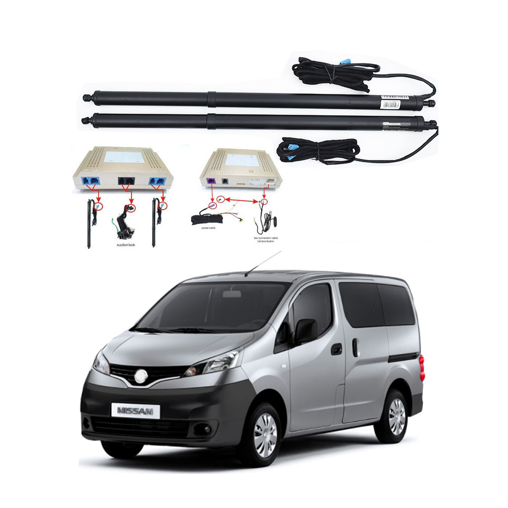 New Electric Tailgate Refitted For NISSAN NV200 2005-2020 Tail Box Intelligent Electric Tail Door Power Tailgate Lift Lock