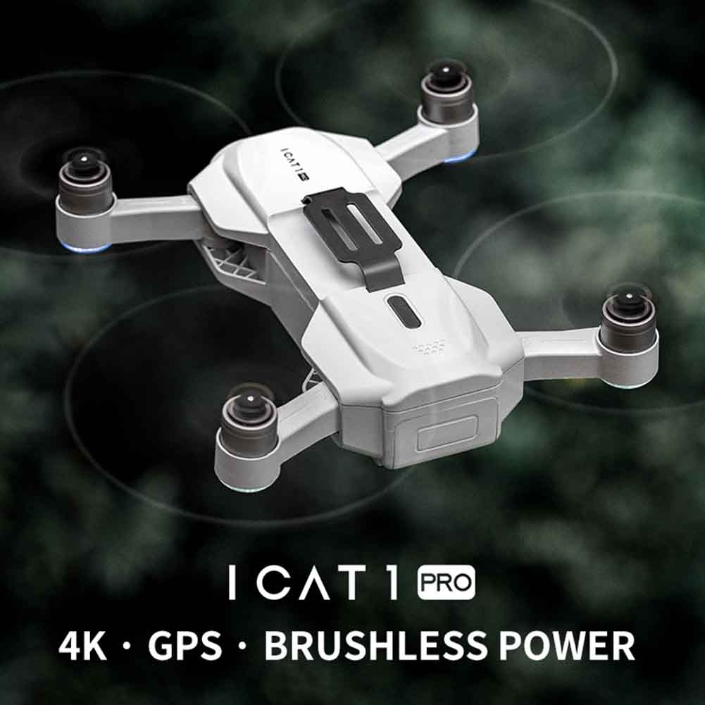 APP Control Headless Mode Foldable Quadcopter One Key Return 4K Camera USB Charging Mini Brushless Motor RC Drone Professional