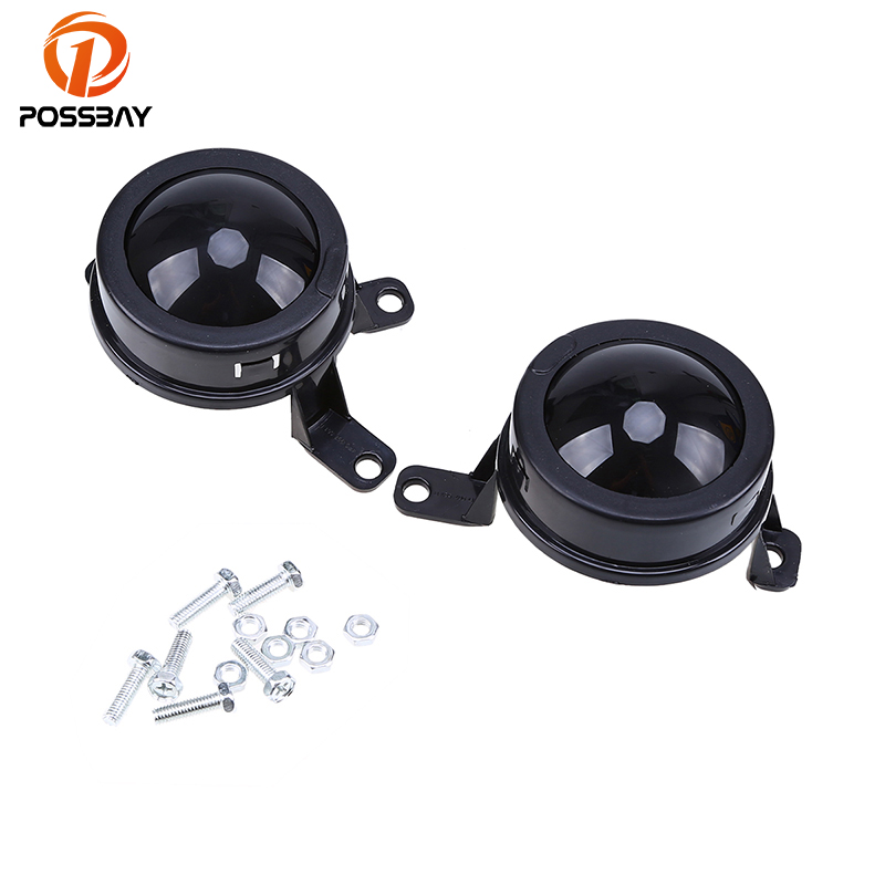 POSSBAY Front Fog Light Housing ACC Radar Sensor Decorate for Audi A6/S6/Avant Quattro 2011 2012 2013 2014 Fog Lights Decoration