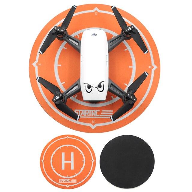 Plataforma de aterrizaje para Dron DJI Spark, accesorios para Mini Dron, delantal de estacionamiento de escritorio impermeable, amortiguador de bujía plegable de 25cm