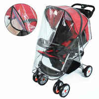 2019 marca nova capa de chuva carrinho de bebê universal carrinho carrinho de bebê buggy capa chuva transparente